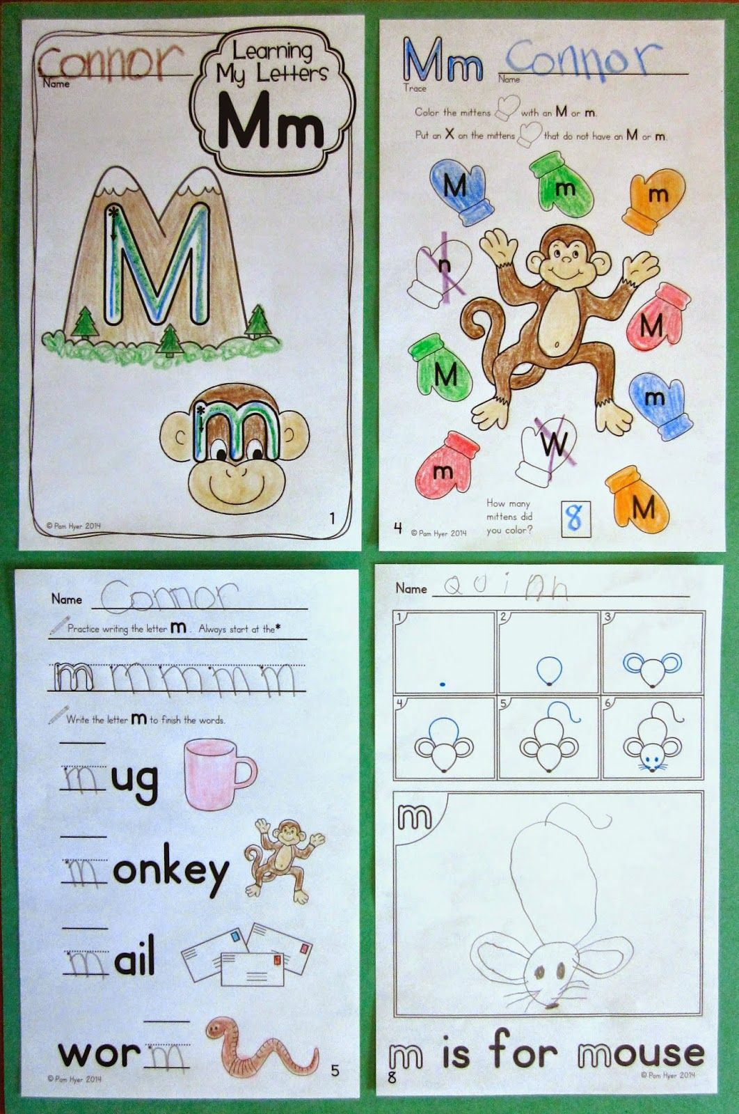 freebie for the letter m m letter activities journeys kindergarten kindergarten language. Black Bedroom Furniture Sets. Home Design Ideas
