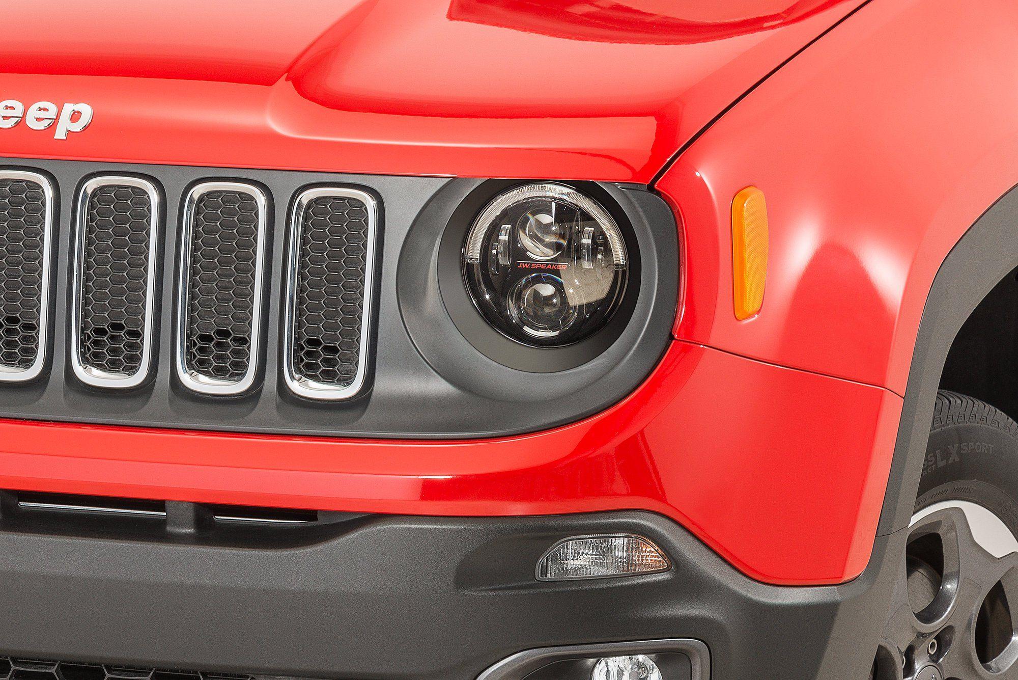 J W Speaker 8700 Evolution 2r Headlight Kit For 15 20 Jeep Renegade
