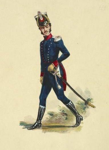 Tenente del 4 rgt. fanteria