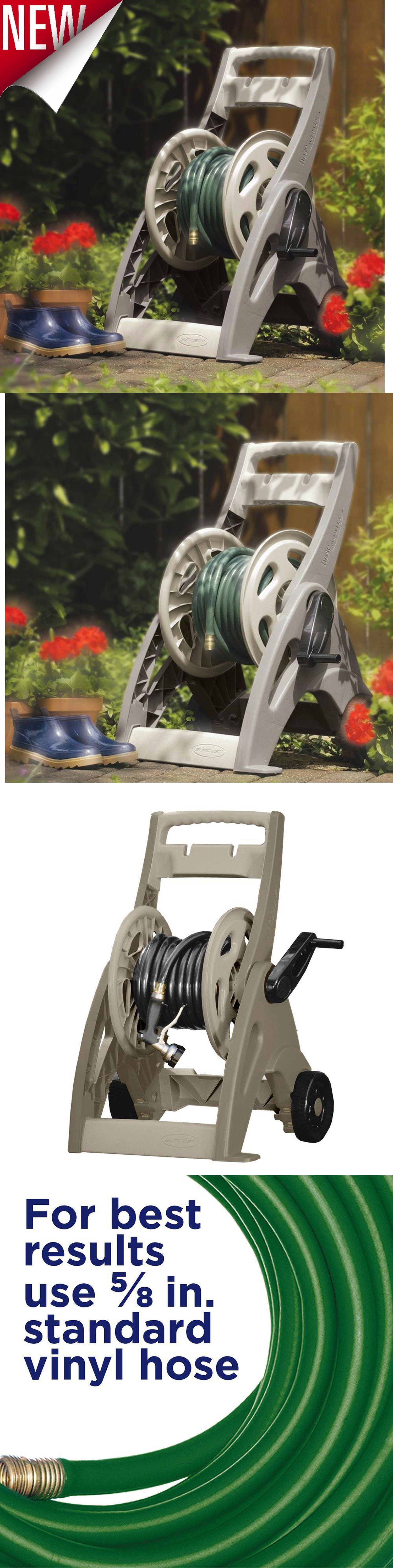 hose reels and storage 46435 water hose reel cart patio garden