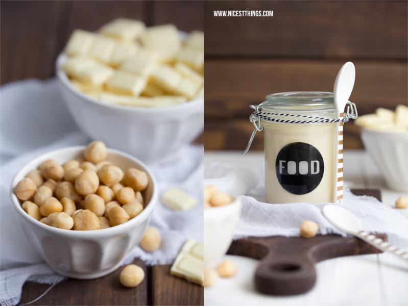 weisse schokolade aufstrich rezept mit macadamia n ssen a tasty hike recipes to try pinterest. Black Bedroom Furniture Sets. Home Design Ideas