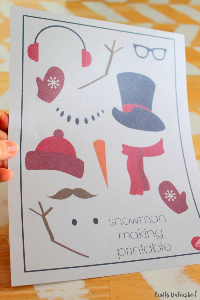 Snowman Template Free Printable - Crafts Unleashed Snowman - snowman template