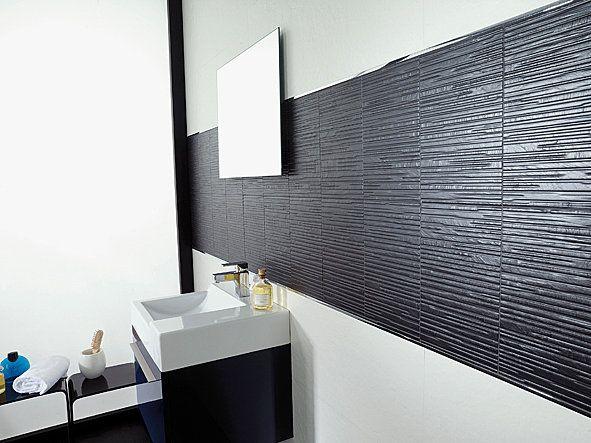 Salle De Bain » Carrelage Salle De Bain Blanc Relief - 1000+ Idées ...