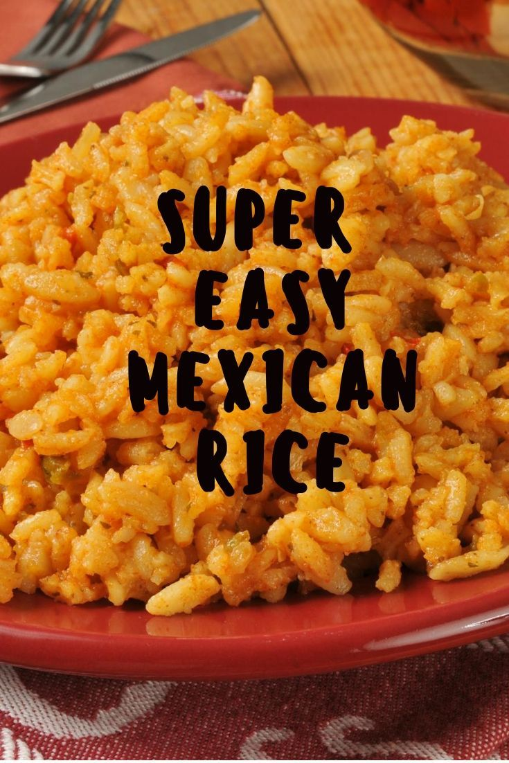How To Make Mexican Rice (Easy Version) - #easymexicanfoodrecipes