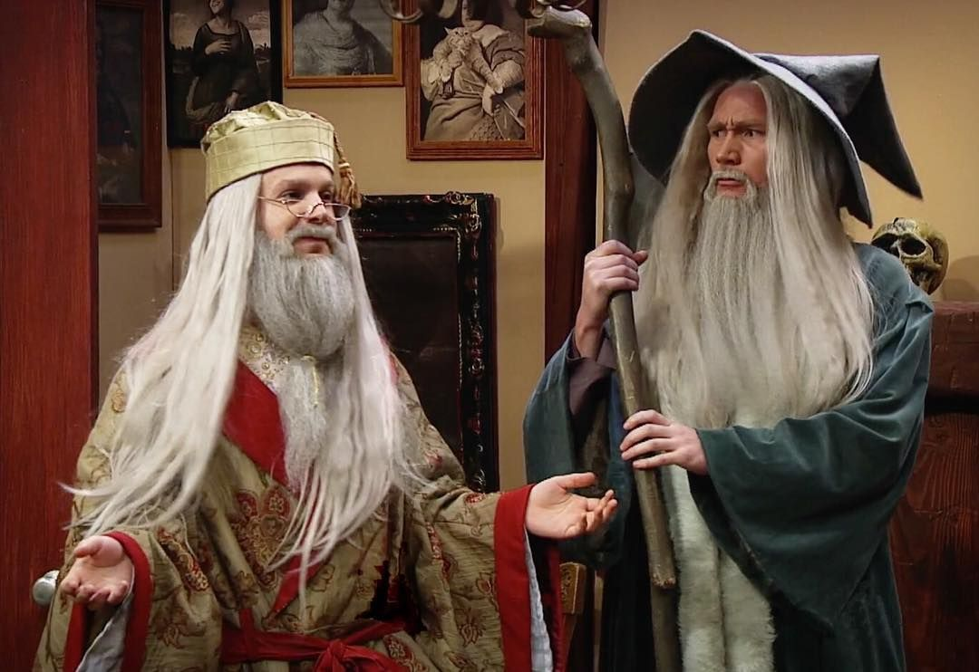 Gandalf or Dumbledore?? StudioC Studio c, Studio, Jason