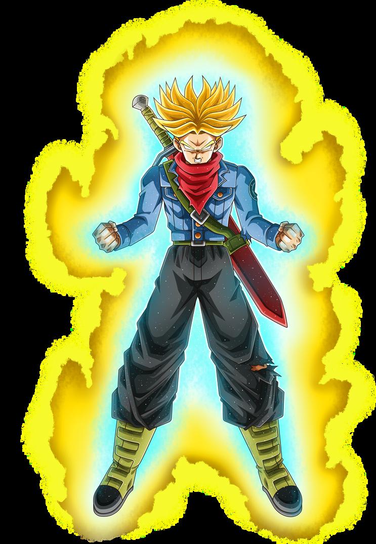 Mirai Trunks 6 Super Saiyan Fury Aura By Nekoar Anime Dragon Ball Super Dragon Ball Super Art Dragon Ball Super Manga