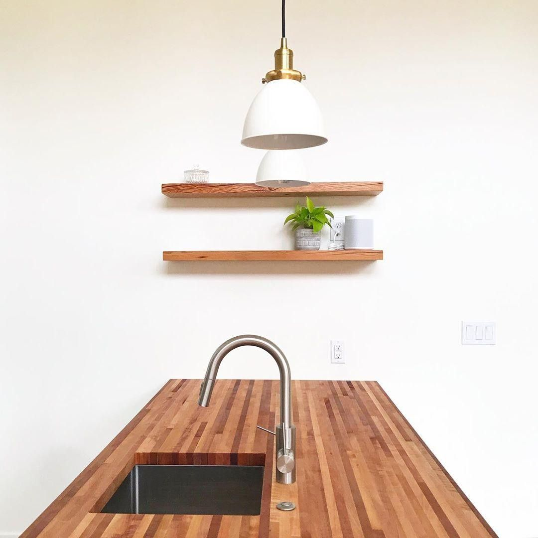 Check out these beautiful madrona butcher block