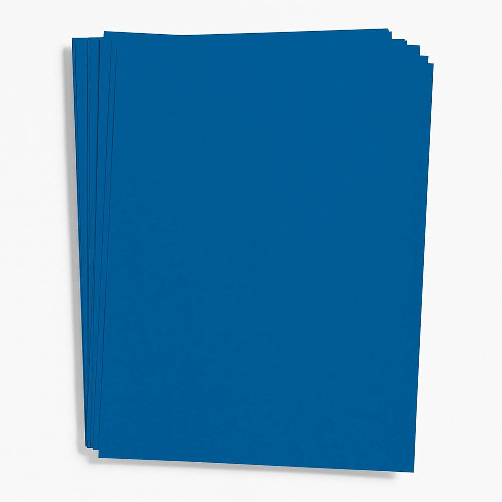 Royal Blue Card Stock 8 5 X 11 Paper Source In 2020 Card Stock Paper Source Blue