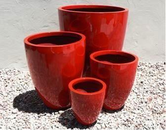 Lightweight outdoor tall round planter size 2 fire engine red lightweight outdoor tall round planter size 2 fire engine red workwithnaturefo
