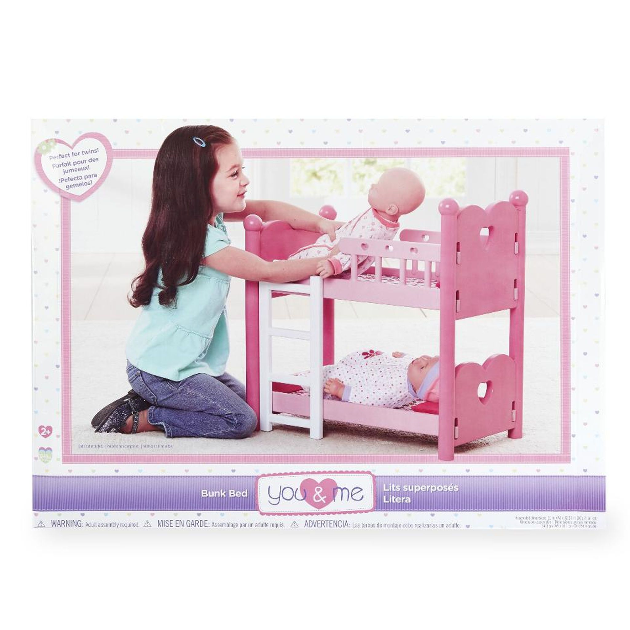 You Me Baby Doll Bunk Bed With Images Doll Bunk Beds Bed