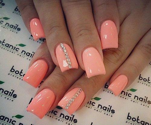 Beautiful nail design for summer.Nail art,diy nail.