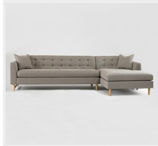 Delicieux Retro Sectional Sofa At Michael Mitchell, Charleston