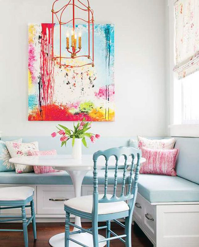 Best 15 Beautiful Breakfast Nooks Art And Crafts Kitchen 640 x 480