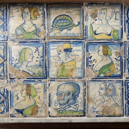 Early 16th century Flemish tiles