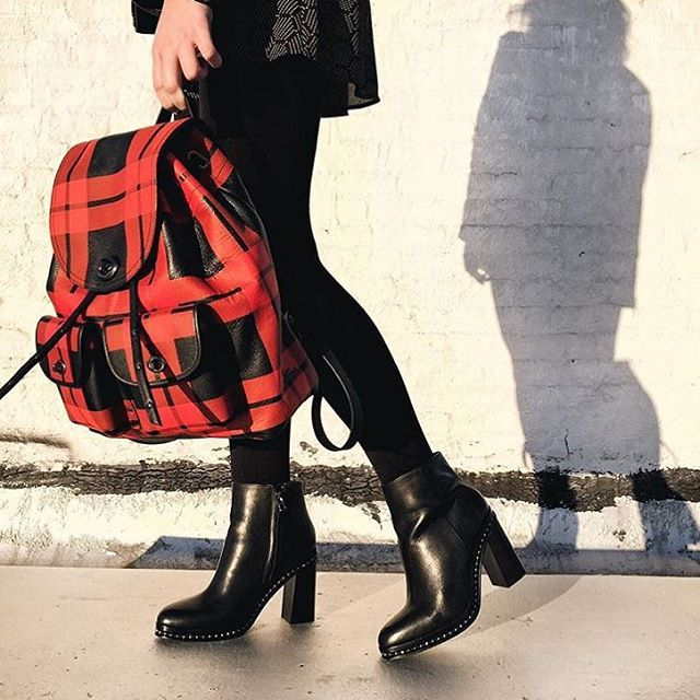 Mad for plaid ... Coach.