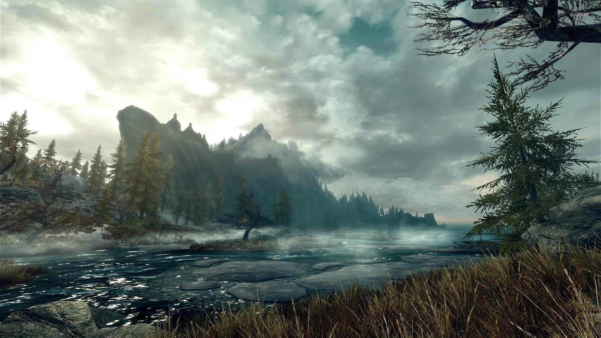общем картинки пейзаж скайрима возвышенная приподнятая часть