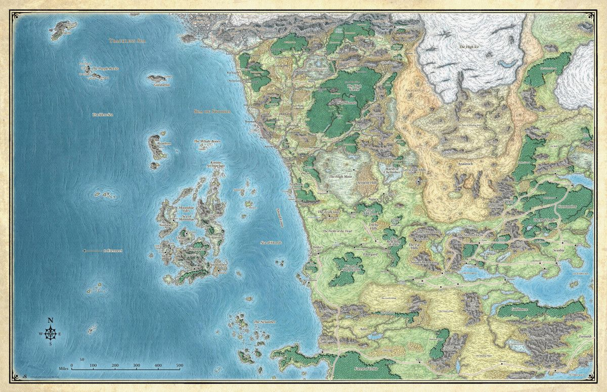 Image Result For Storm Kings Thunder Map DnD Storm Kings - Storm map