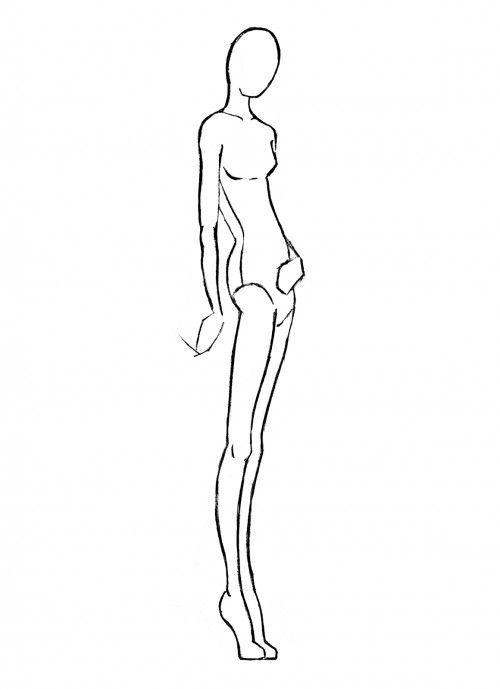 fashion model drawing | SKETCHES Croquis | Pinterest | Discover ...