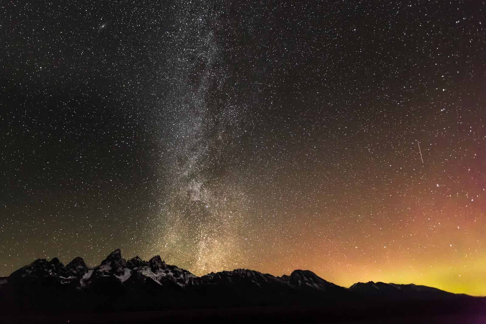 The Milky Way By Nadeen Flynn Night Time Is A Great Time For Landscape Photography With The Right Landscape Photography Nature Photography Night Photography