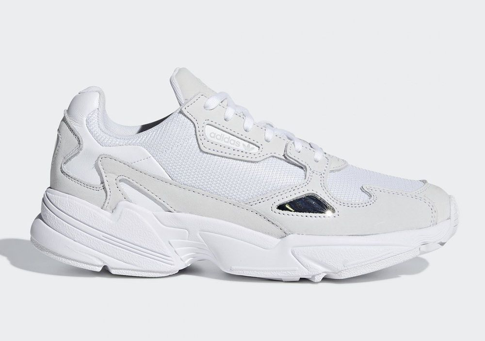 buy online b504e 76f80 adidas originals Falcon Triple White B28128 women running shoes sneakers  fashion clothing shoes accessories womensshoes athleticshoes