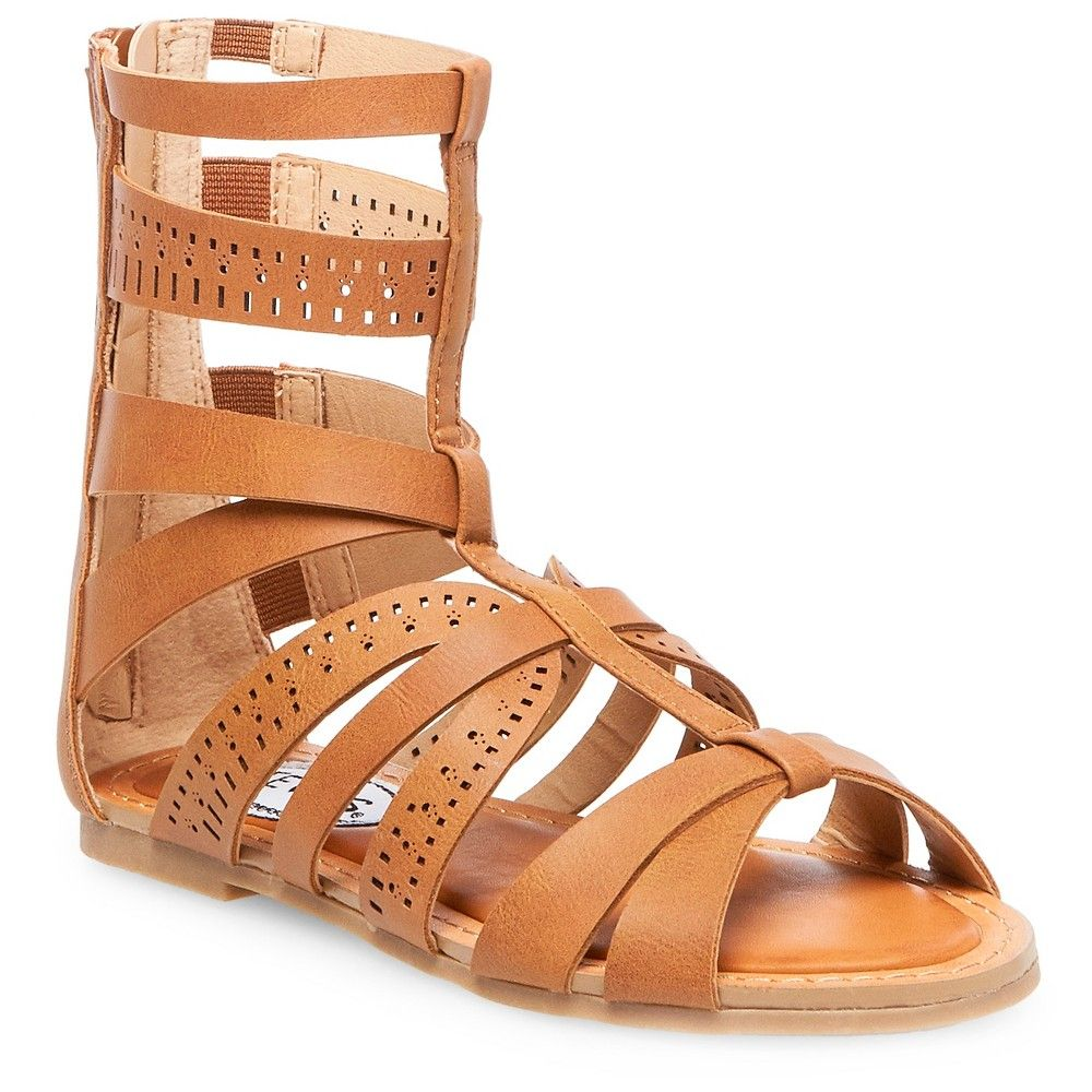 47440998c6a Girls  Stevies  stephie Gladiator Sandals - Brown 3