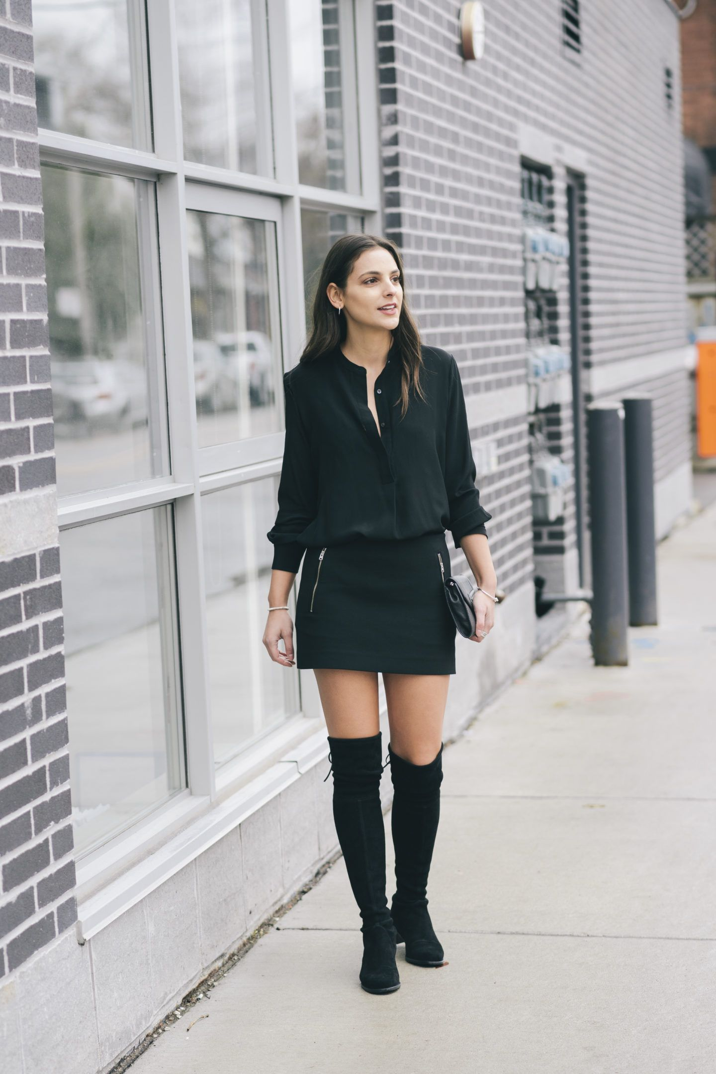 4243b821a71 Stuart Weitzman  Midland  Over The Knee Boots. More of this look on  www.christinadesantis.com  overthekneeboots  stuartweitzman  fashion