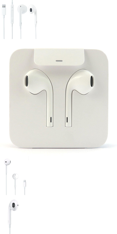 Original Apple Lightning Earpods Iphone 7 8 Plus X 11 Pro Oem In Ear Headphones Earpods Iphone 7 Iphone 7 New Iphone