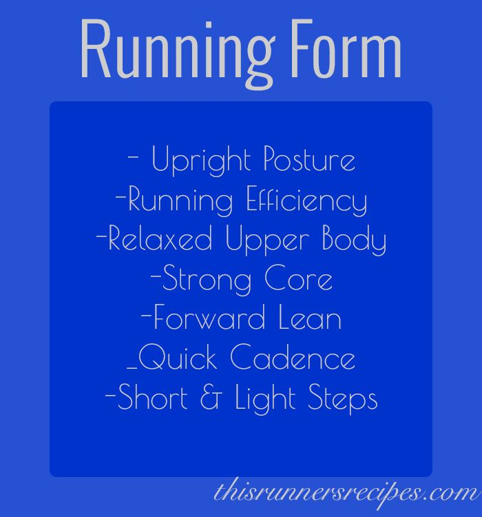 Proper Running Form Running form, Running and Upper body - proper running form