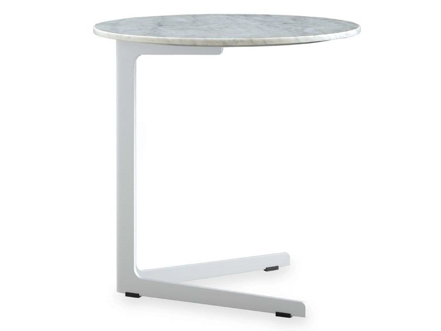 Table d'appoint ronde en marbre BABA | Table basse en marbre - Poliform