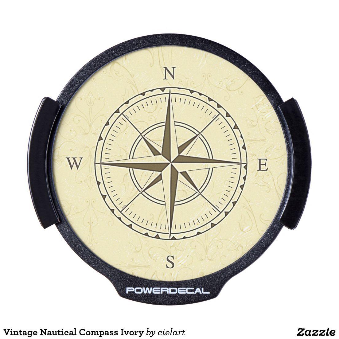 Create Your Own Decal Zazzle Com Vintage Nautical Nautical Compass Nautical