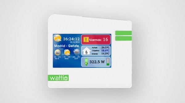 Conecta tu hogar de manera segura a internet y controla tus aparatos aunque la conexión se pierda. Con pantalla táctil a color.