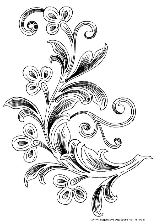 imagenes de ramas y flores para decorar marcos para cuadros ...