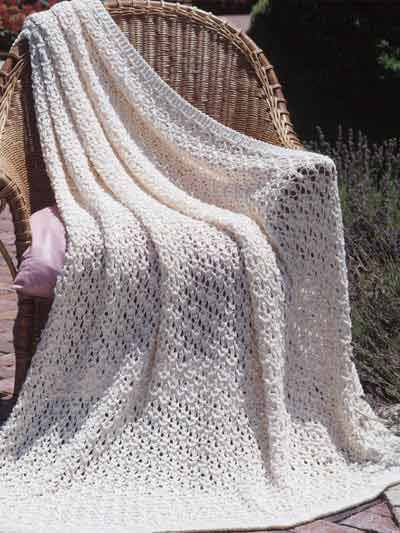 Afghan Throw Knitting Textured Afghan Knitting Patterns Little