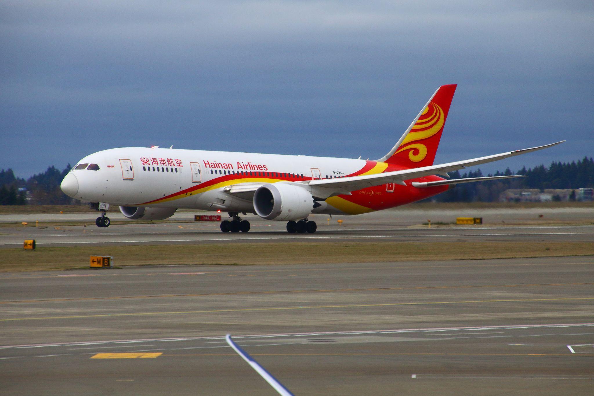 HainanAirlines_B2759 Boeing 787 dreamliner, Boeing