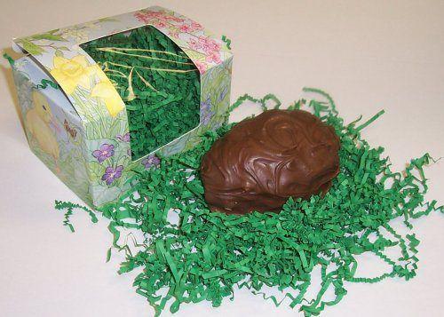 Scott's Cakes 1/2 Pound Maple Fudge Easter Egg Covered in Milk Chocolate - http://bestchocolateshop.com/scotts-cakes-12-pound-maple-fudge-easter-egg-covered-in-milk-chocolate/