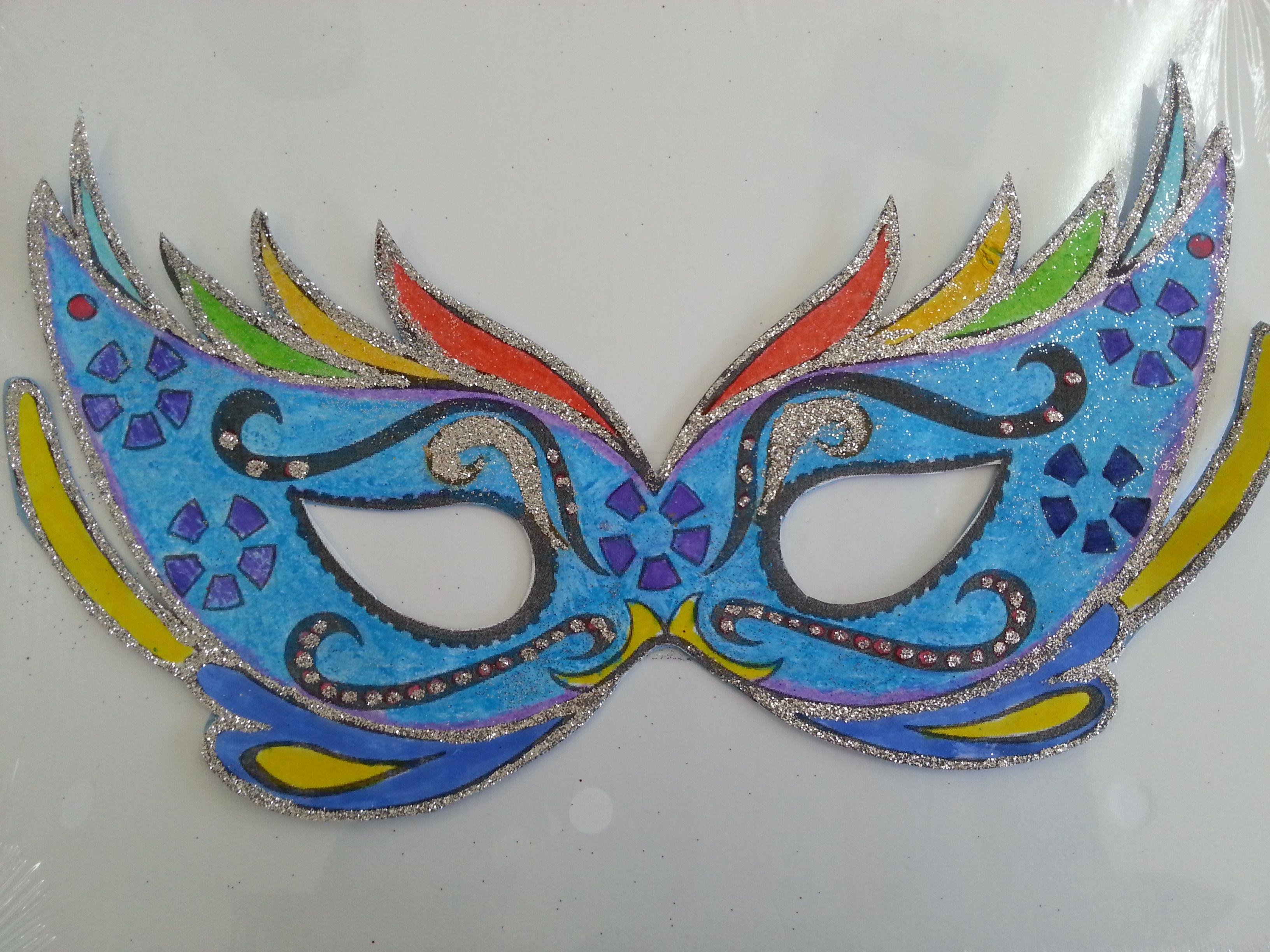 El blog de sami antifaz 3 1 carnaval carnival masks carnival y fancy dress - Mascaras para carnaval manualidades ...