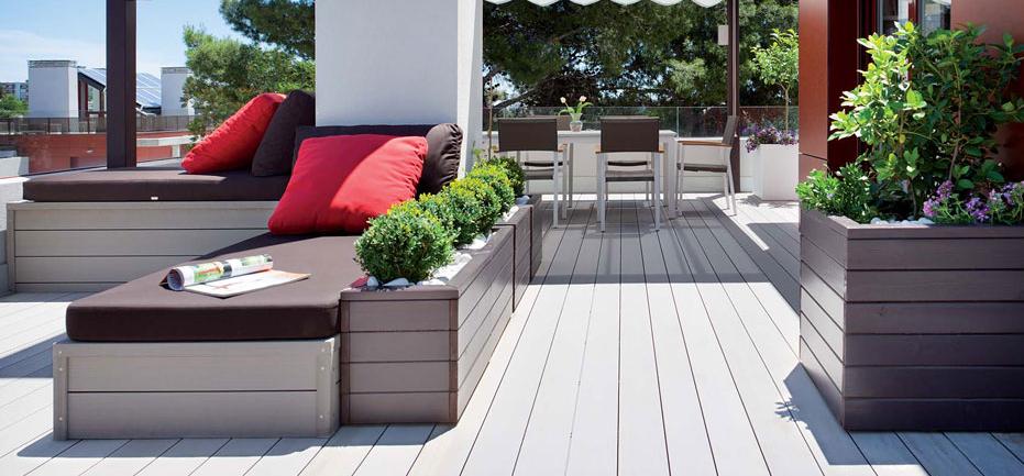 Suelos para jardines y terrazas en - Suelos para patios ...