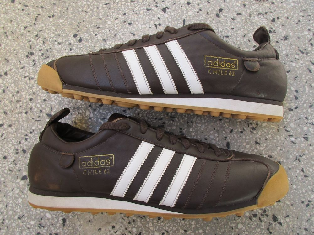 RARE VINTAGE 2007 ADIDAS ORIGINALS CHILE 62 MENS TRAINERS