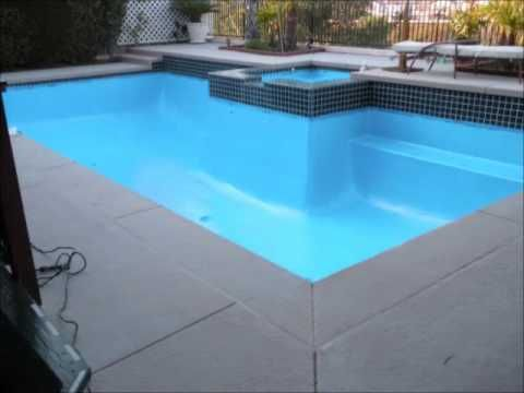 Do It Yourself Pool Restoration And Resurfacing Youtube Swimming Pool Repair Pinterest