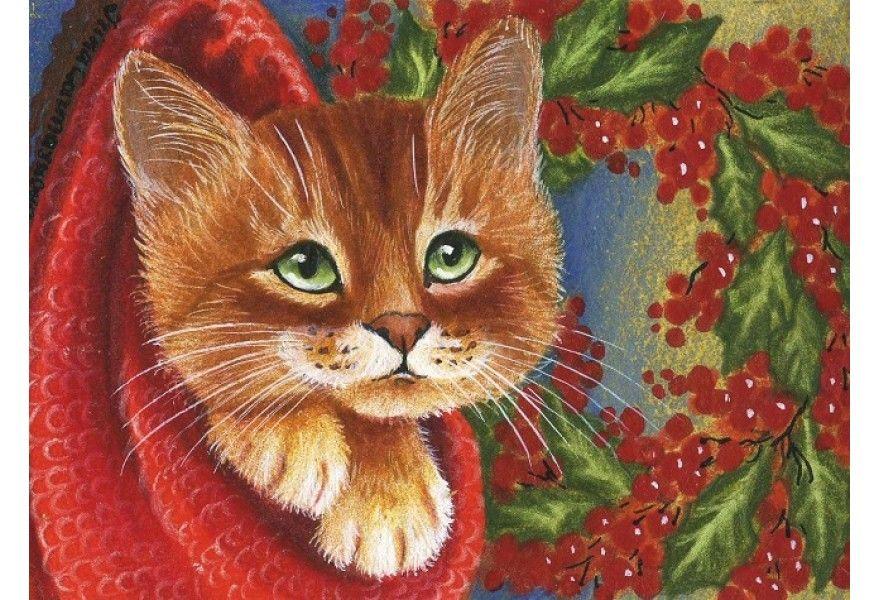 открытки с котами гармашовой день настал, мир