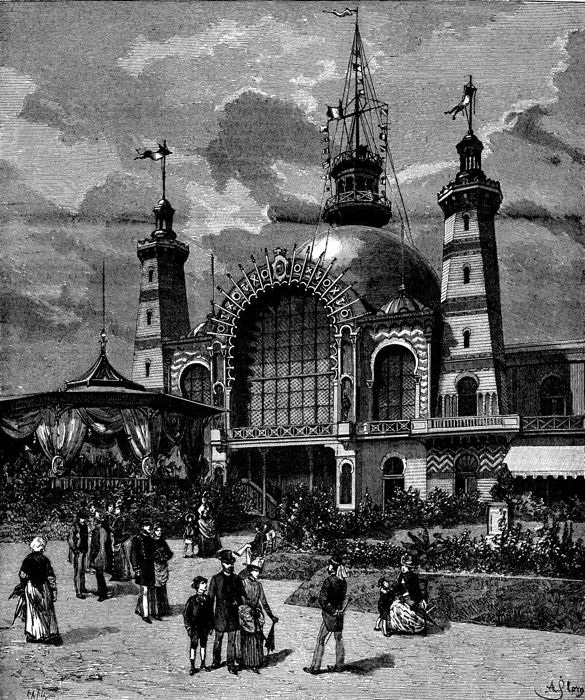 Exposition Maritime Internationale Le Havre 1868 Le