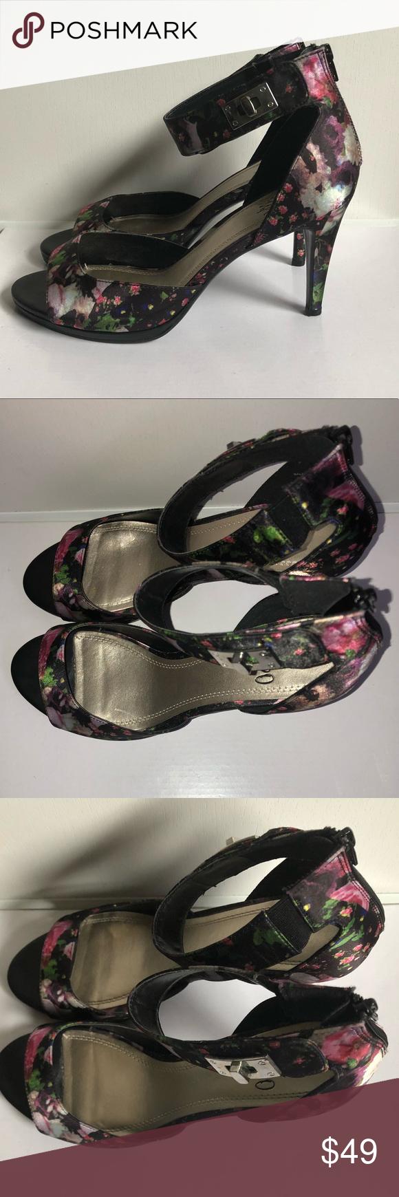 DexFlex WhiteCork Wedge Heels Ladies Sz 7.5