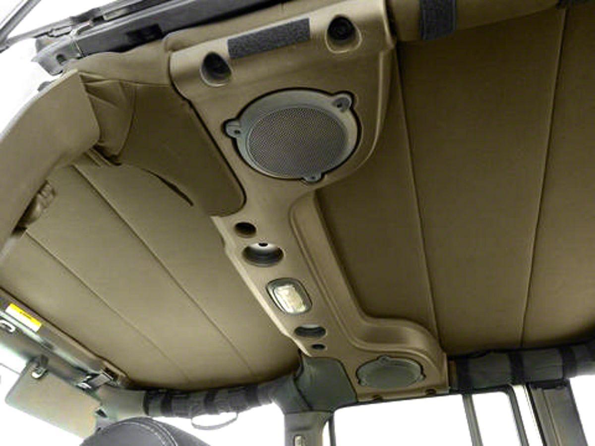 Hothead Soft Top Headliner Tan 07 17 Wrangler Jk 2 Door Jeep