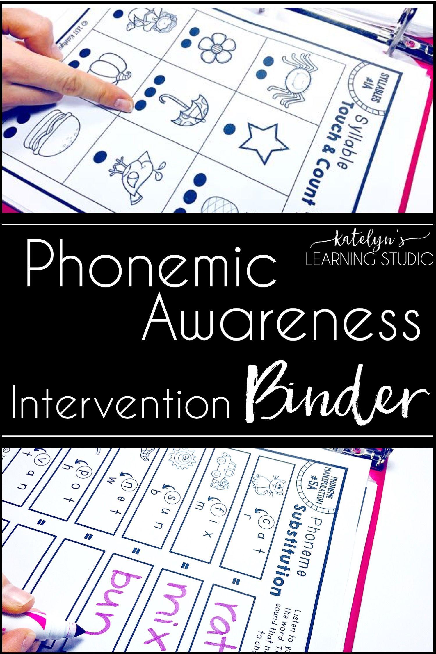 Fun Phonemic And Phonological Awareness Simple Activities