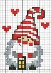 Photo of Etamin New Year templates for cross stitch, # simpleblue copies #crossstitc …..