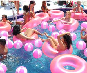 Pink Pool Water Tumblr