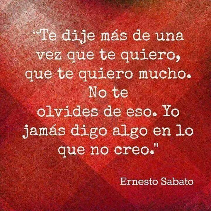 Ernesto Sabato Quotes