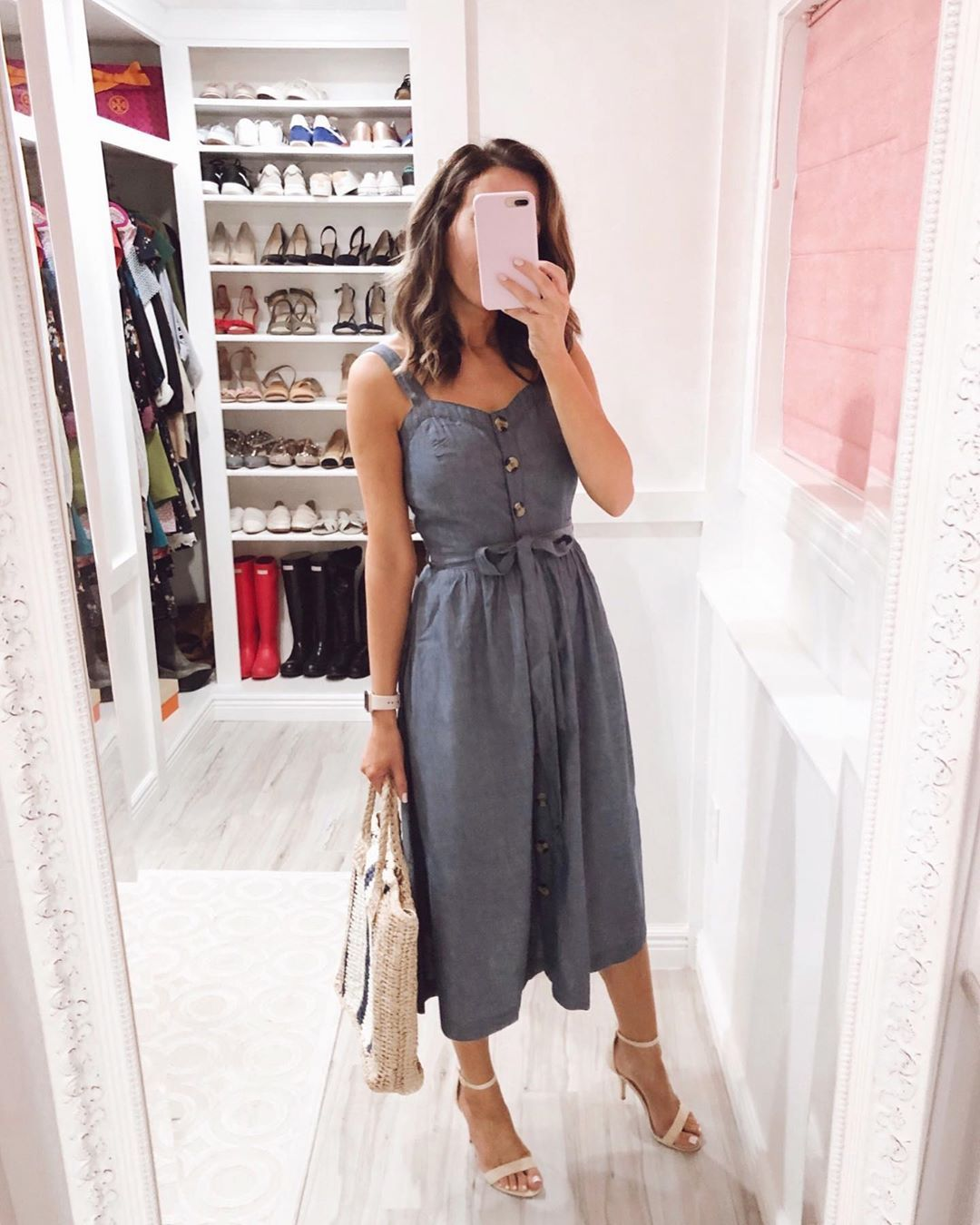 Happy 1st Day Of Summer How Is It Already Here This 100 Cotton Dress Is Perfect For Summer Days And It Just Got Reduced To Style Fashion Modest Outfits [ 1350 x 1080 Pixel ]