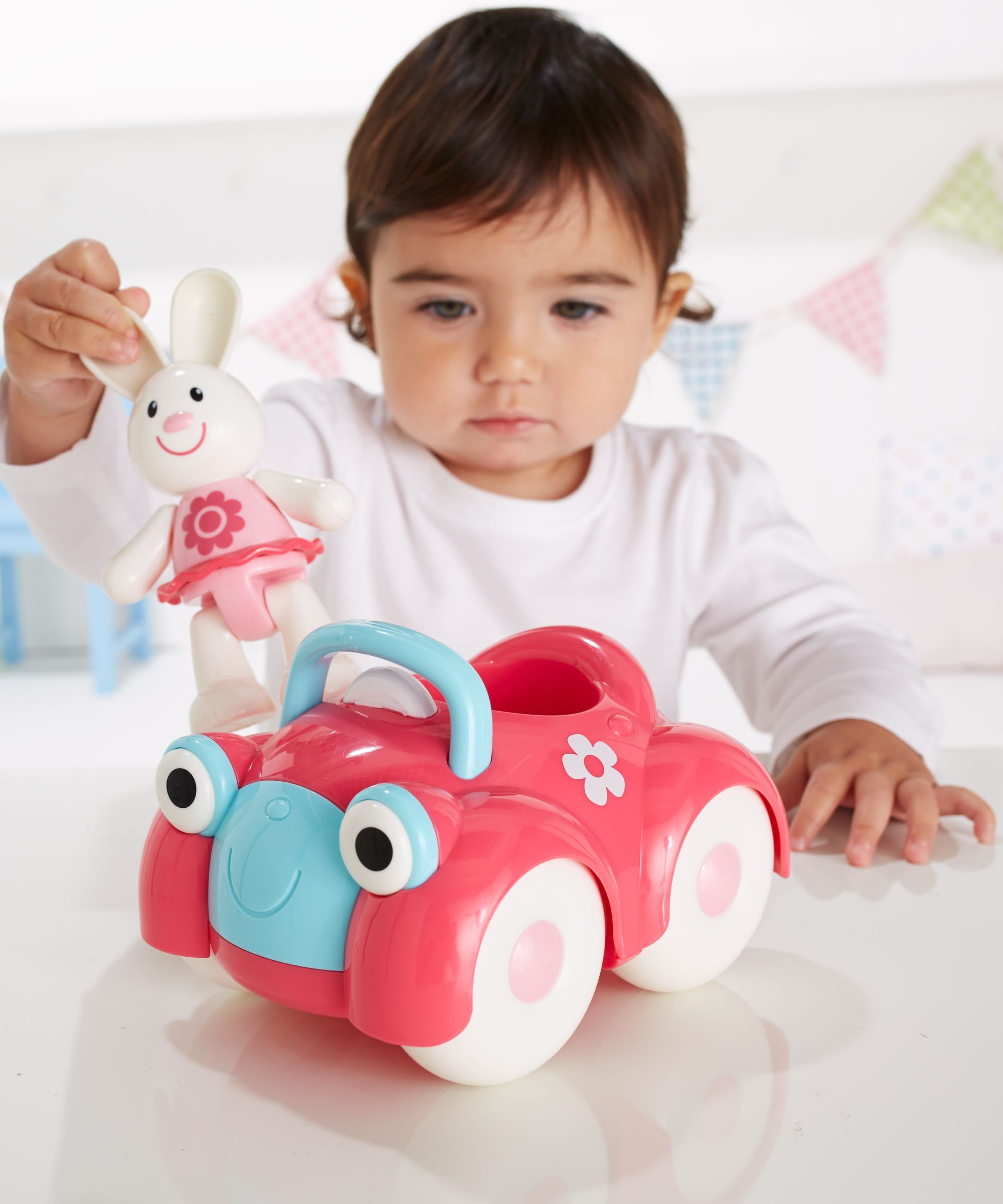 Toys car for child  Toybox Rosie Rabbit and her Motor Car  Cars Rabbit and Motor car