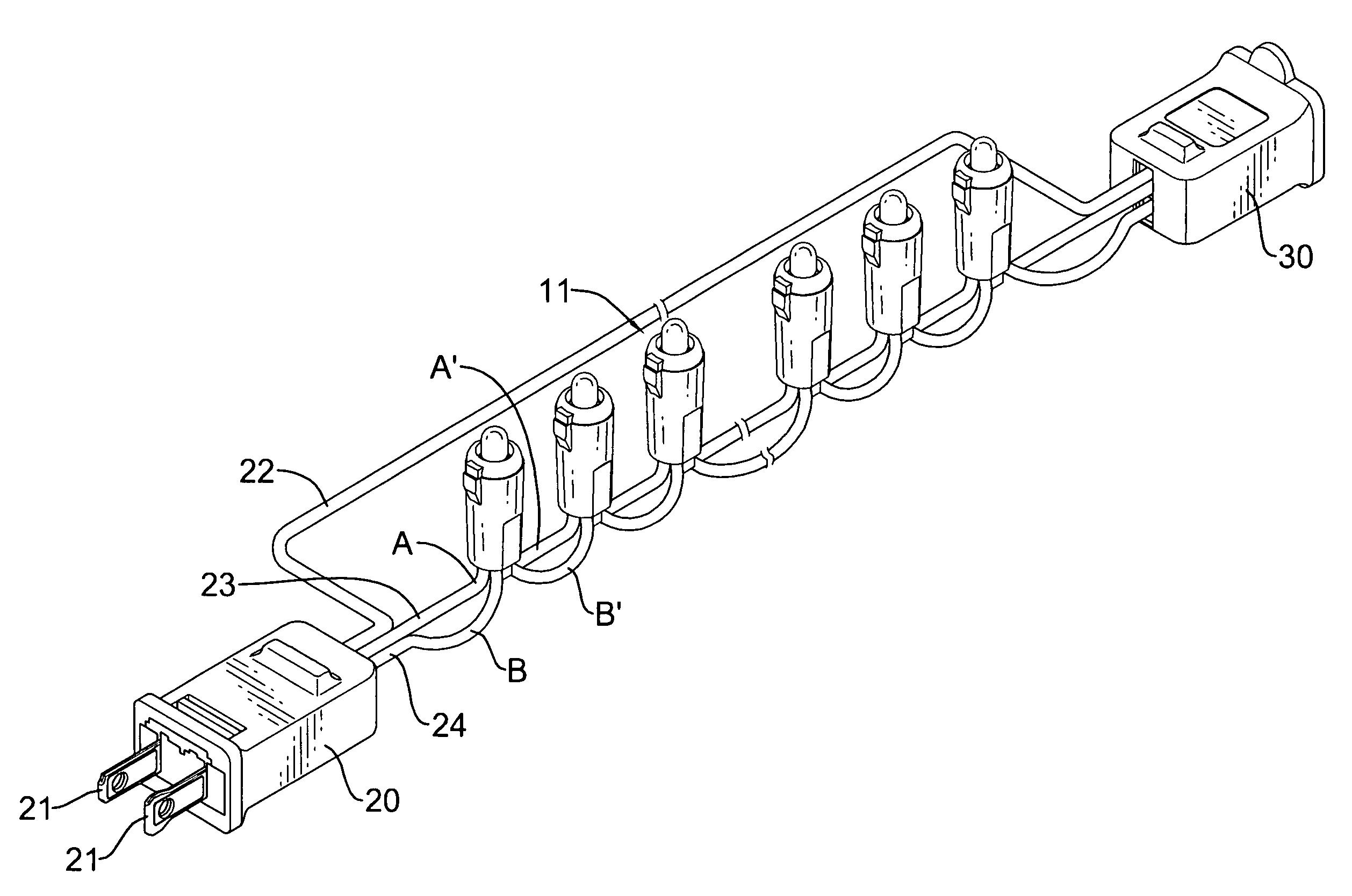 led string lights wiring diagram